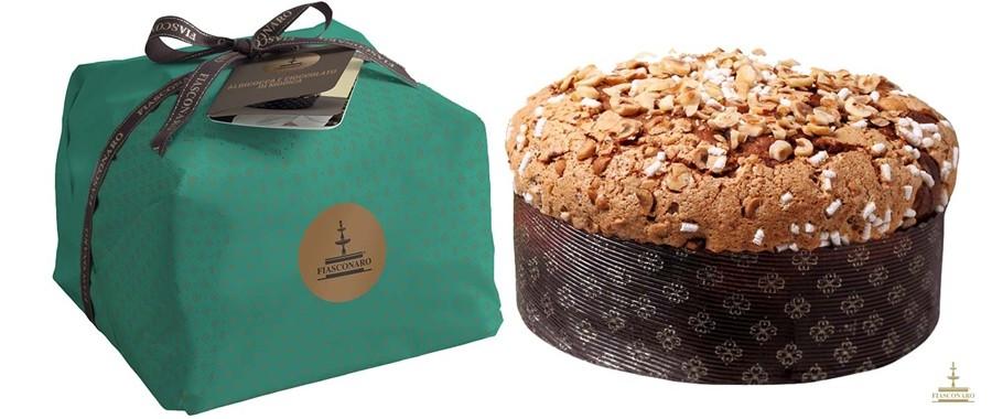 Panettone Albicocca e Cioccolato di Modica Fiasconaro Kg.1